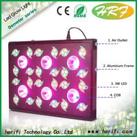 200 watt cob full spectrum grow light 12 band grow led greenhouse lamp 60x2w veg led grow lights 30w chip +3w/ 5w chip LEDs