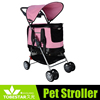 garden strolling dog carriers with wheels 2 in 1 dog strollers