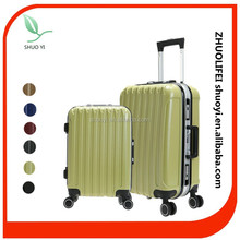 2015 new products 4 zipp wheels decent travel luggage, travel car luggage and bag