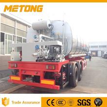 Reboque do caminhão de transporte modelo A betume