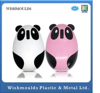No ready-made but customized PE Material Plastic Injection Mold for Computer Mouse Shell cute panda shape