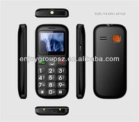 W76 1.77inch big boutton with sos senior mobile phone without camera