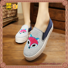 new arrival latest changing color ladies dinner ladies pump shoes canvas women shoes for ladies
