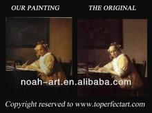 Handmade artist and paintings on canvas