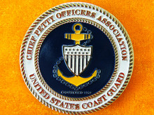 2015 soft enamel bronze and anchor coin