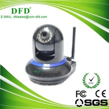 HD 720P Version/H.264 Compression Format Plug-and-Play Office Wireless IP CCTV Camera