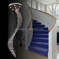 Large crystal chandelier, modern k9 crystal chandelier led