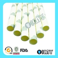 Party Decoration Supplies Silver Paper Straws