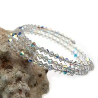 970544 OL apple jewelry set goldstone bracelet