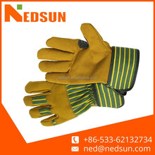Protect hand fake leather gloves