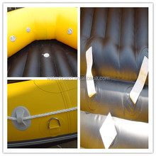 2015fashion style inflatable rafting air boat for 12 person/ Canoeing for surfing on beach/ colorful inflatable air boat