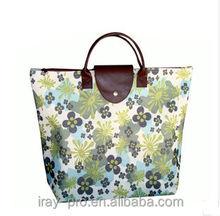 portable oxford foldable bag reusable shopping bag
