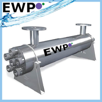 Ultraviolet water sterilizer system