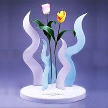 fashion purple flower vase