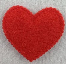 Fashion heart design patch for wedding