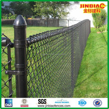 Black PVC Coated Chain Link Fence ( factory direct sales )