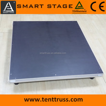 portable aluminum plywood stage for sale
