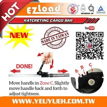 [EZ LOAD] Y-712POT 3 in 1 Pop-Out Tube Style Truck Bed Cargo Bars
