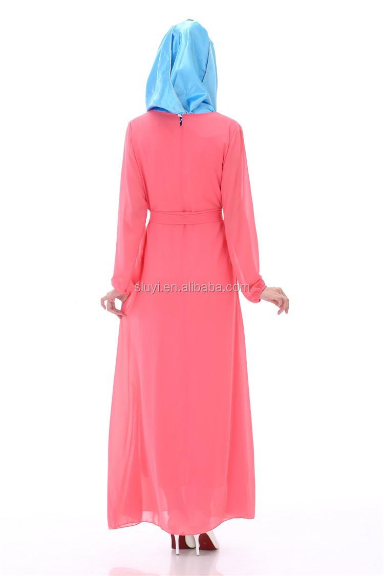 Elegante diseño musulmán Islámico Musulmán vestido de novia Nueva ...