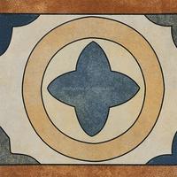 BATHROOM GLAZED CERAMIC vintage floor tiles