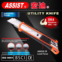 retractable box cutter SK4 blade printing knife