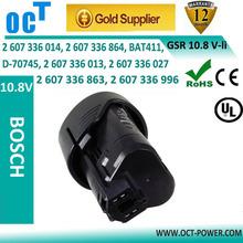 Replacement Power Tool Batteries BOSCH 2 607 336 013, 2 607 336 014,BAT411