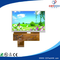 Hot sale with TP 7.0 inch display tft lcd for industrial