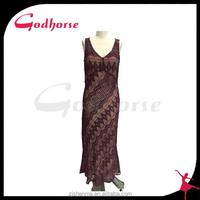 China Top Ten New Design Ladies Sleeveless knit Dress Wholesale