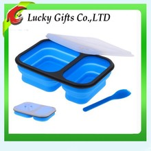 Most Popular Food Grade Refrigerated Oven Safe Silicone Lunch Box