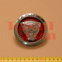 85mm Large Front Grille Emblem Badge For Jaguar XF
