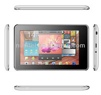 7 inch Full Funtion Tablet PC MTK8377 Dual Core 1GB+8GB with HDMI+FM+TV+GPS+3G+Bluetooth HD screen 1024*600