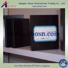 Black static reduce grade HDPE/PE300 sheets/boards/plates