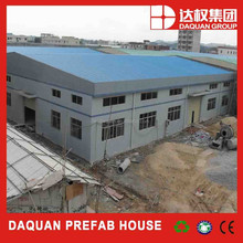 light prefabricated steel building/workshop/hanger/warehouse/factory