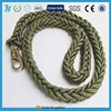 Hot selling Army green rope strong nylon big dog leash