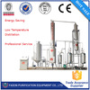 High tech distilling used motor oil to diesel oil purifier with full automatic