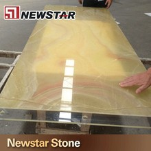 Top quality honey marble translucent onyx for countertop