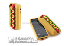 Delicious Food Design Case For iPhone 6 Soft Mobile silicone phone cases for iphone 5/5S