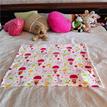 Wholesale China blanket 80x80cm printed coral fleece baby blanket