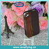 hot sell design PU and wood flip mobile phone case for iphone