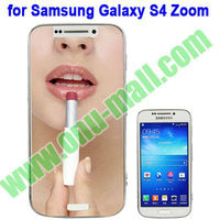Mirror Screen Protector for Samsung Galaxy S4 Zoom / C1010 (Clear/ Mirror/Frosted/180 Degree Privacy,etc)