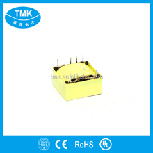 Small Single Phase PCB Mounting transformer protective cover