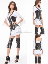 Hot Adult Womens cosplay Pirate of the Carribea Fancy Dress Sexy Pirate Maiden Costume