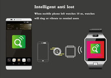 Factory manufacture 2015 touch screen smart bluetooth watch for smart phone