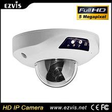 5.0 megapíxeles full HD 2560 * 2048 P H.264 H.265 delgado de la bóveda Wifi <span class=keywords><strong>panorámica</strong></span> fisheye HD cámara ip