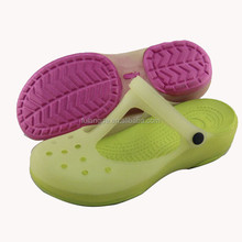 classic women hole hole jelly shoes lady summer beach tpu sandals