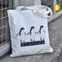 Fashion style Organic recycle fabric cotton bags handmade