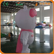 Factory direct sale trendy style commercial inflatable cartoon girl from manufacturer