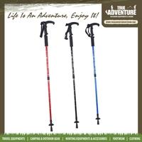True Adventure TB2-002 Factory Cheap Price Anti-shock Three Section Nordic Walking Stick Telescopic Hot Stick