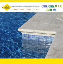 Cheap granite stone pool coping bullnose edge