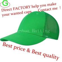 OEM Color Blank Mesh Trucker Cap Velcro Baseball Caps